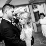 fotografia ślubna pierwszy taniec BW