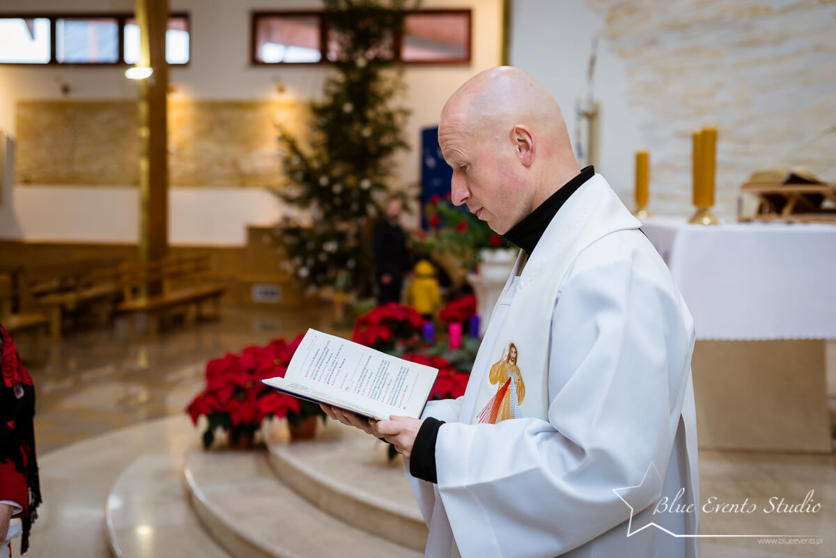 fotografia Chrztu Majdan Królewski