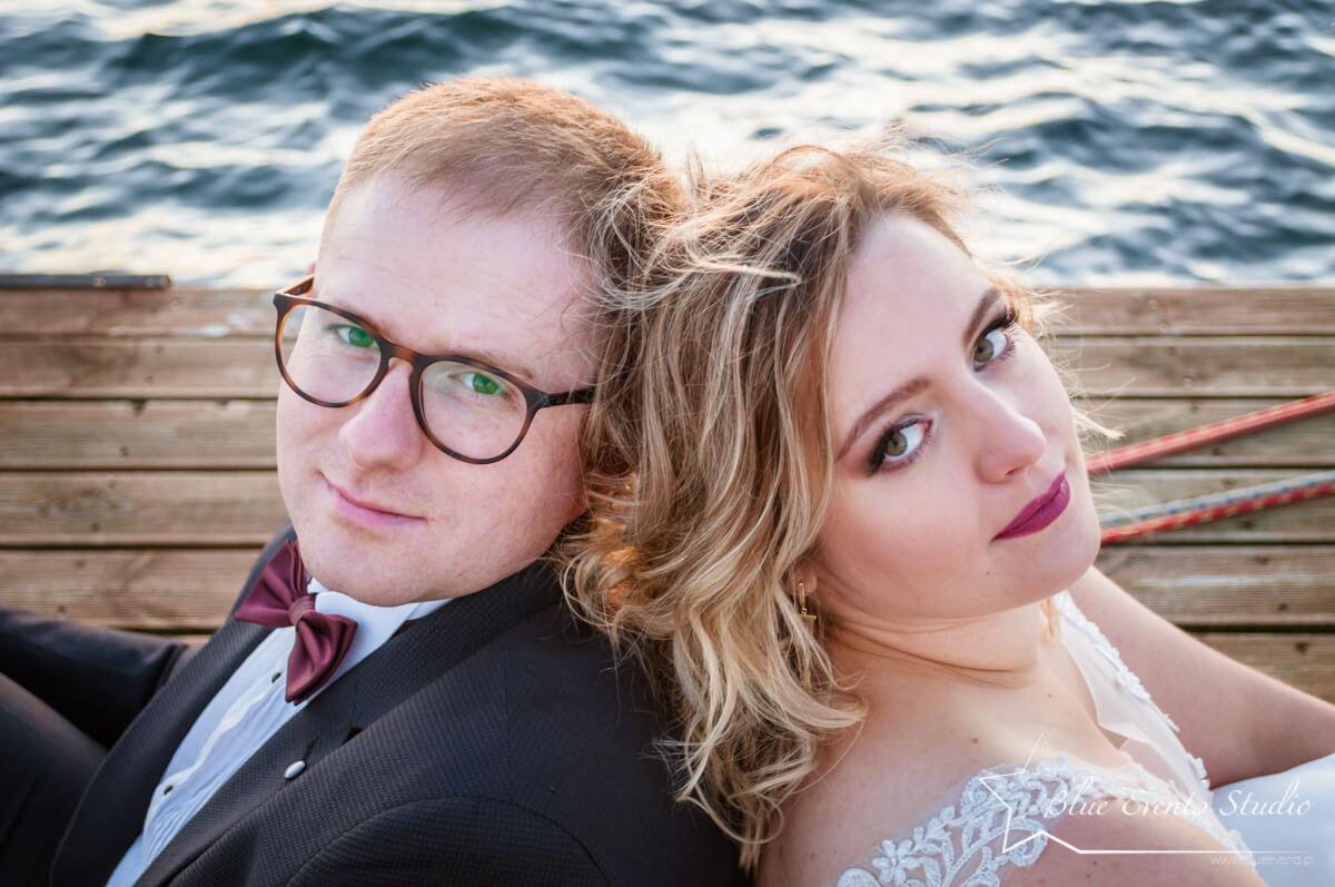zdjęcia ślubne Jezioro Tarnobrzeskie