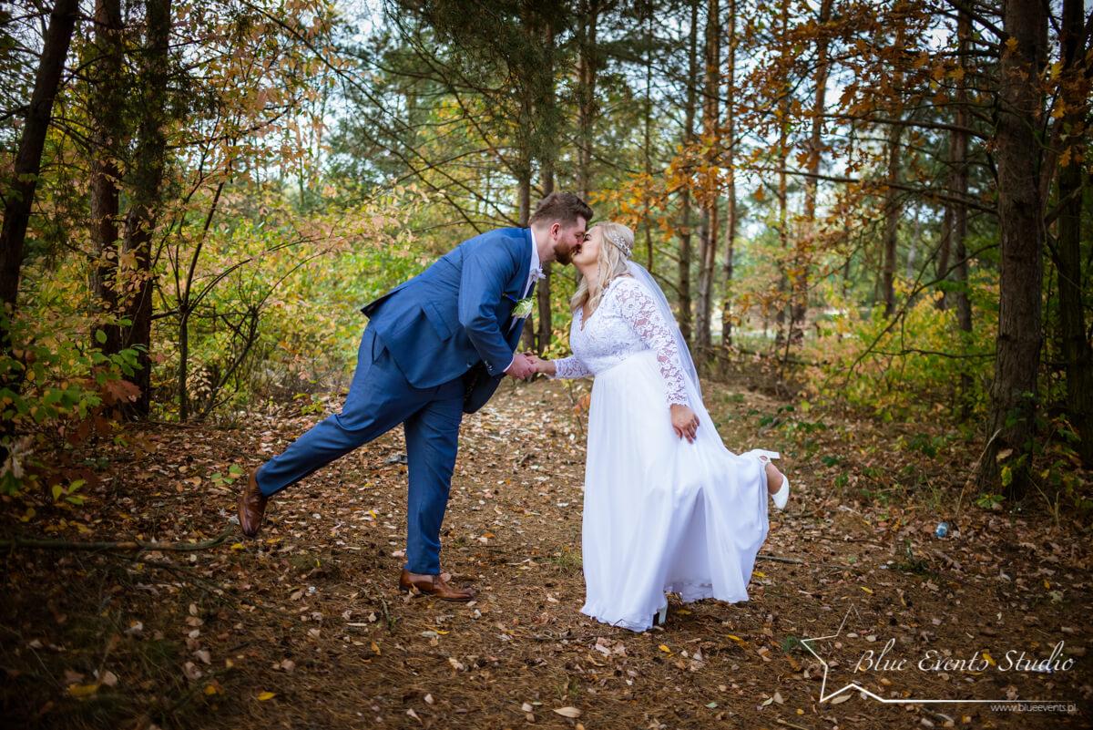 plener w dniu ślubu