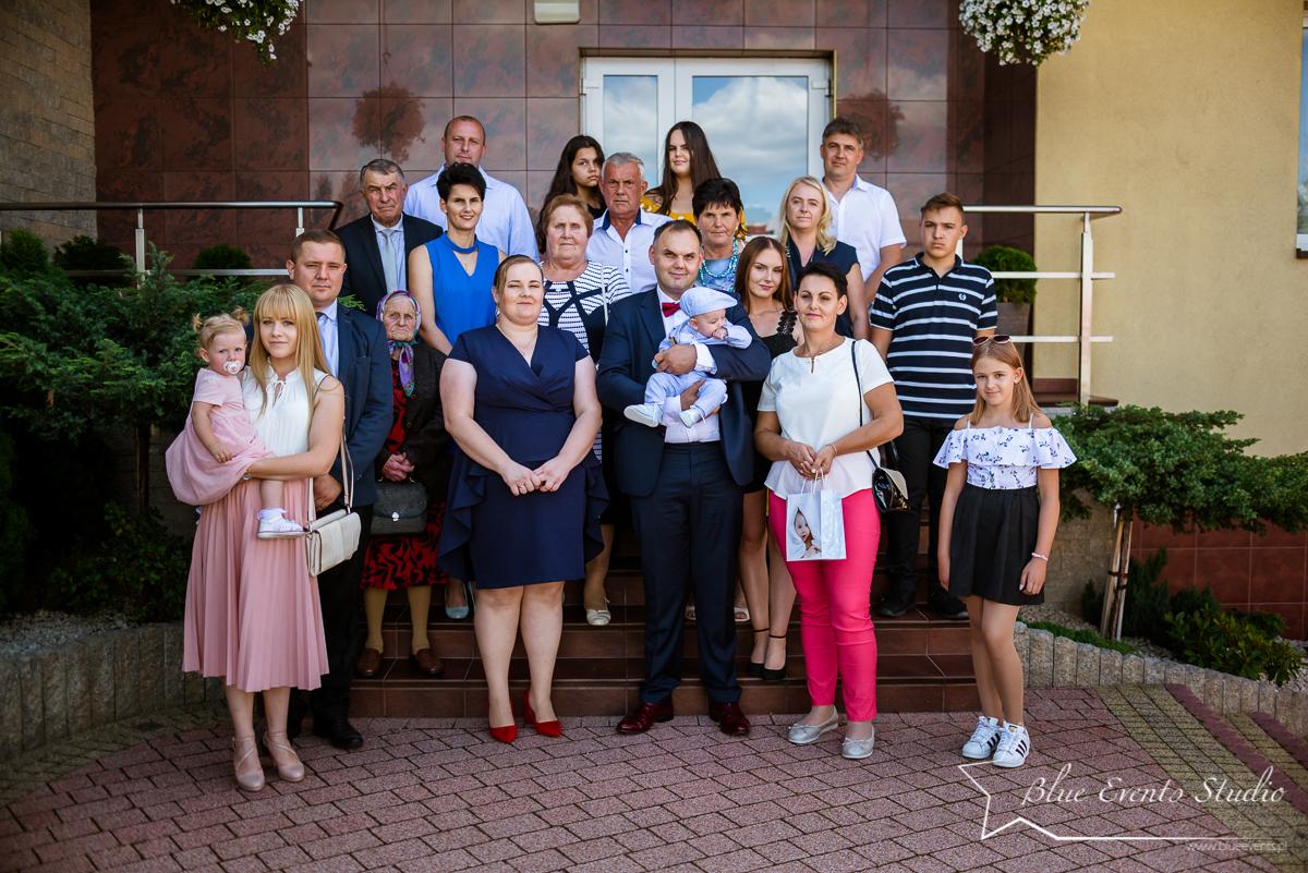 zdjęcia ze chrztu Marcinka