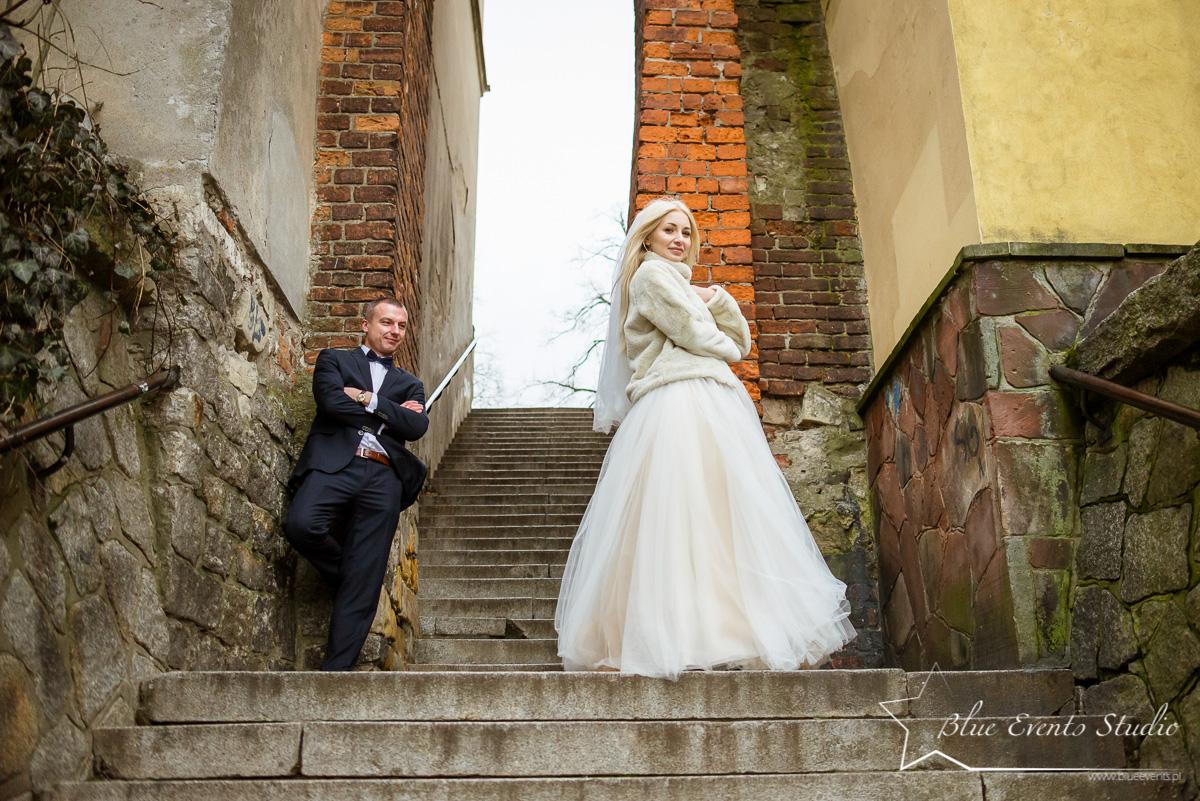 fotografia ślubna w Sandomierzu