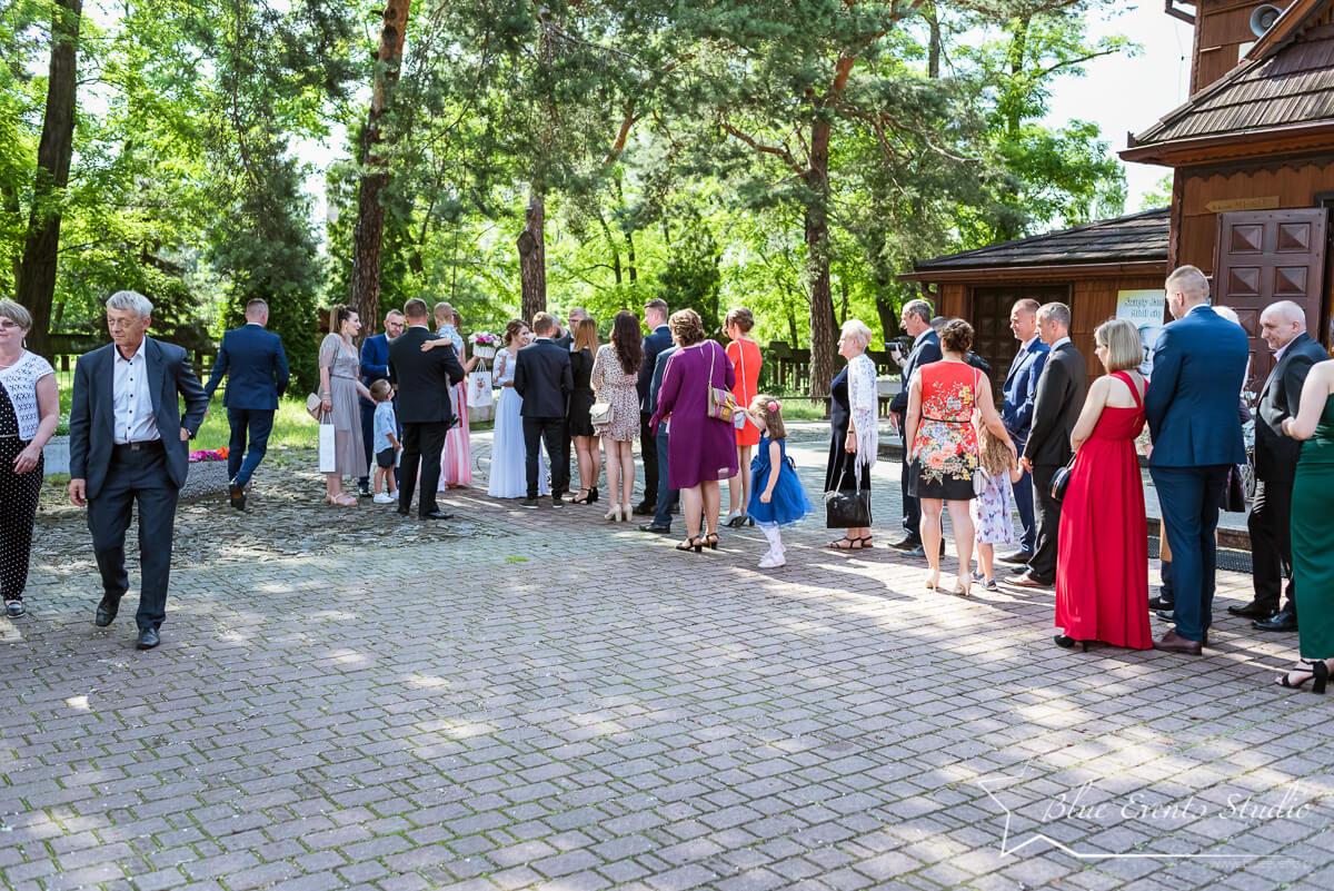 fotografia ślubna z gratulacji i podziękowań