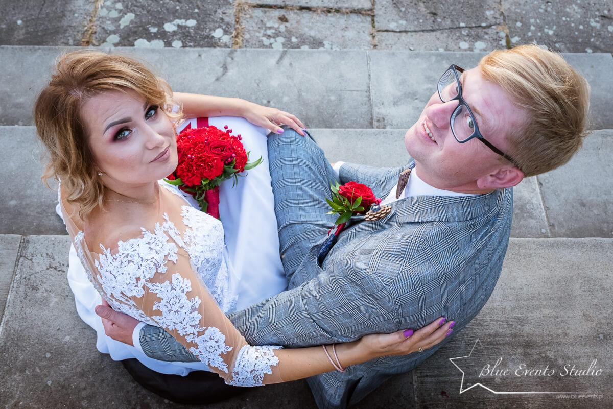 fotograf ślubny Stalowa Wola sesja plenerowa w Baranowie